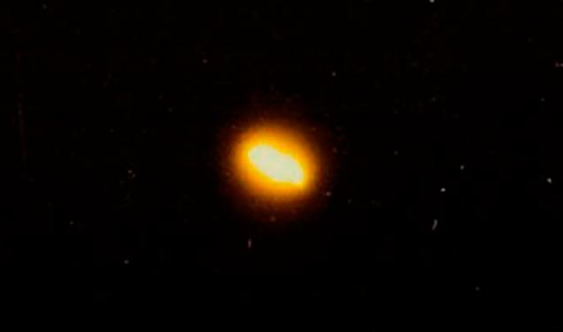 Разные фазы НЛО при «раздевании» фильтрами
